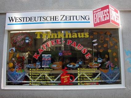 Trinkhaus-Kaffeepause