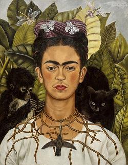 Frida-Kahlo-Selbstportrait