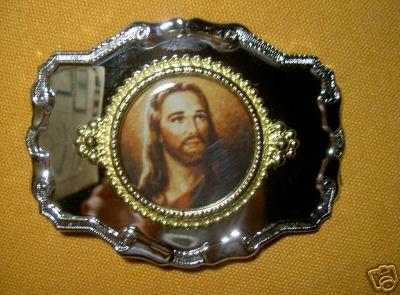 Jesus-Guertelschnalle