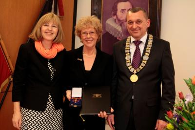 Bundesverdienstkreuz für Hilda Röder