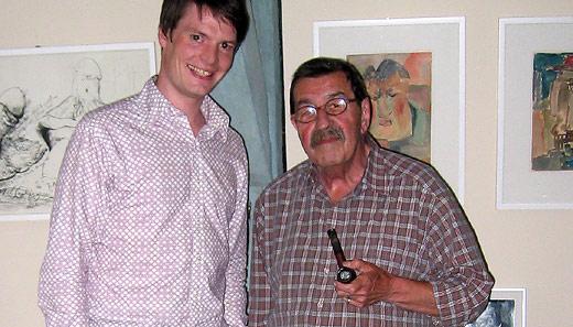 Begegnung mit Günter Grass am 5. Juli 2005 in Lübeck