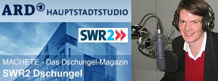 Radio-Interview mit Christian Hochhuth von iDemokratie im ARD Hauptstadtstudio für die SWR2 Sendung MACHETE - Das Dschungel-Magazin