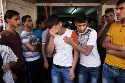 Trauer-und-schmerz-im-Gazastreifen