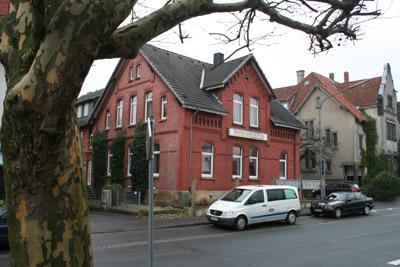 Seit 1896 saß die Redaktion in dem Haus an der Bahnhofsstraße 5.