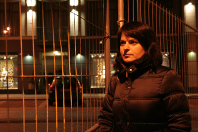 Natalia Radina in Vilnius. Alle Rechte: Jan Söfer