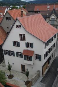 Gebäude der Zeitenspiegel-Reportageschule in Reutlingen.