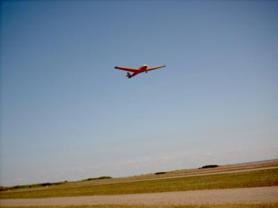 Unser Übungsflugzeug