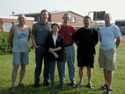 Gruppenbild der Ausbilder