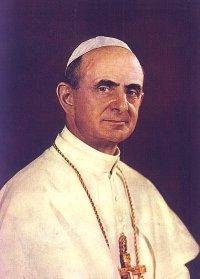 Papst Paul Vi Heiligsprechung