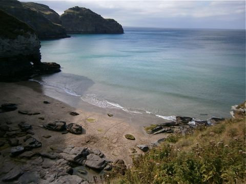 Bossiney-Beach
