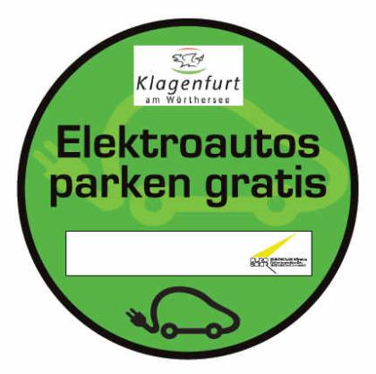 Elektroautos parken gratis