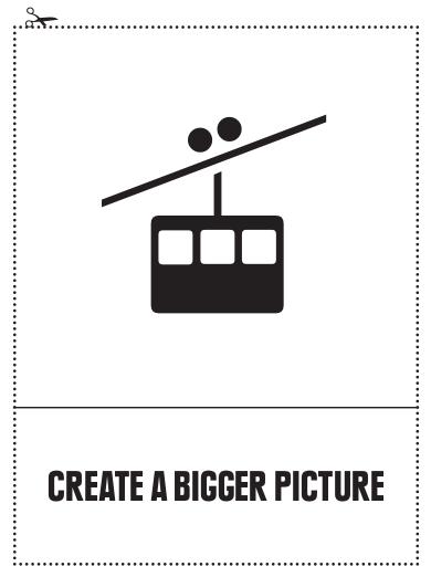 Create a Bigger Picture, (C) Manifesta Workbook