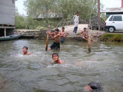 badende-Kinder