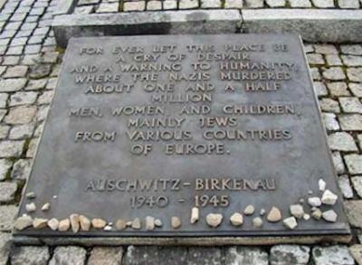 Auschwitz 1,5 Millionen