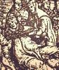 die während einer Prozession durch Rom 858 niederkommende Nebenbuhler-Päpstin Johanna