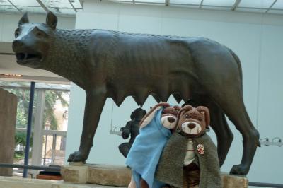 Livia und Marcellus mit der kapitolinischen Woelfin