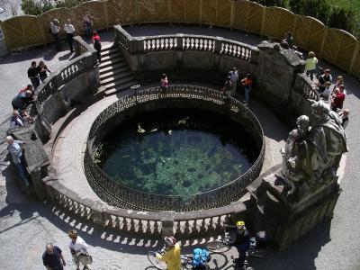 Donau-Quelle in Donaueschingen