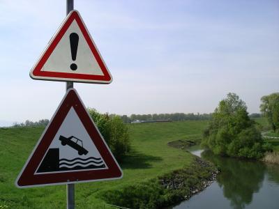Für Biker absolut ungefährlich...