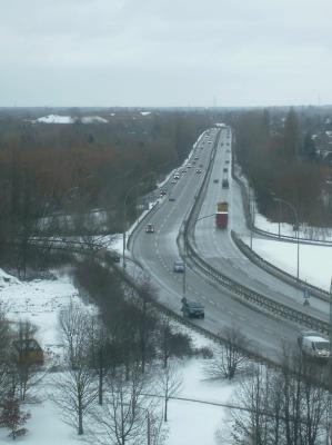 Autobahn nach Prenzlau Hamburg