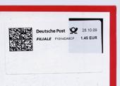 Briefmarkenstatement von Sabine Sigelton