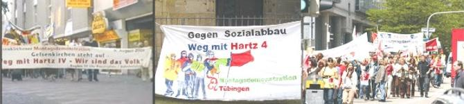 Tübinger Montagsdemo läuft gleich vom Europaplatz los.