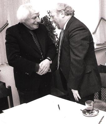Hermann Wedekind und Werner Traud