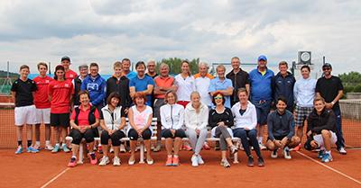 Damen- und Herren-Doppel 2017