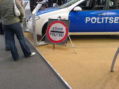 Die Politsei...