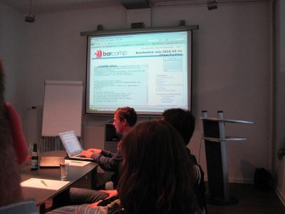BarCamp Kiel 2010 - 1. Orga-Treffen