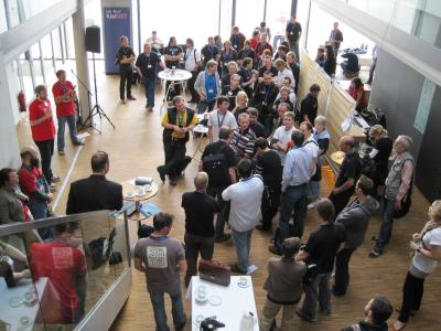 1. BarCamp Kiel 2010 im Wissenschaftszentrum