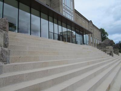 Die neue Treppe der KUNSTHALLE zu Kiel 1