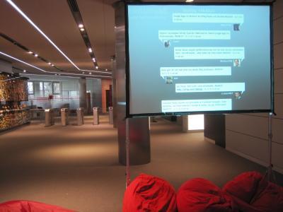 In den fantastischen Räumen von OTTO in Hamburg - 4. Hamburger BarCamp 2010