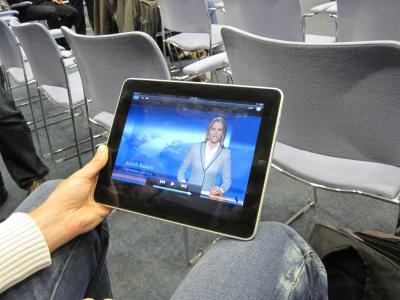 frisch eingeflogen aus den USA: das tolle iPad in Kiel