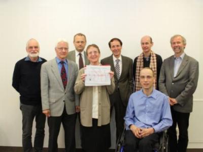 Teilnehmer der Presskonferenz<br /> M&uuml;hlkreisbahn 17 4 13
