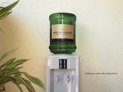 Champagner-Spender
