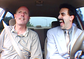 "Sacha Baron Cohen (r.) in ""Borat"""