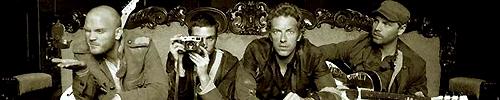 Coldplay: Will Champion - Guy Berryman - Chris Martin - Jonny Buckland.