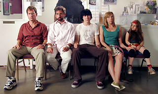 """Little Miss Sunshine"": Greg Kinnear - Steve Carell - Paul Dano - Toni Collette - Abigail Breslin"