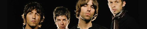 Oasis: Gem Archer - Noel Gallagher - Liam Gallagher - Andy Bell.