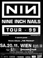 NIN - 20.11.1999, Libro-Hall.