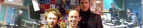 Thom Yorke - Steve Lamacq - Ed O'Brien