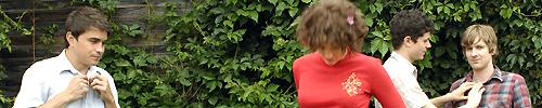 Sunset Rubdown: Spencer Krug - Camilla Wynn Ingr - Jordan Robson-Cramer - Michael Doerksen.