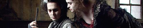 """Johnny Depp und Helena Bonham Carter in """"Sweeney Todd: The Demon Barber Of Fleet Street"""""""
