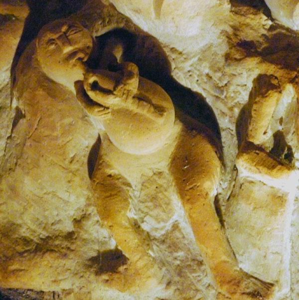 Hoehlenskulpturen Deneze sous Doue 14