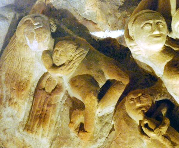 Hoehlenskulpturen Deneze sous Doue 17