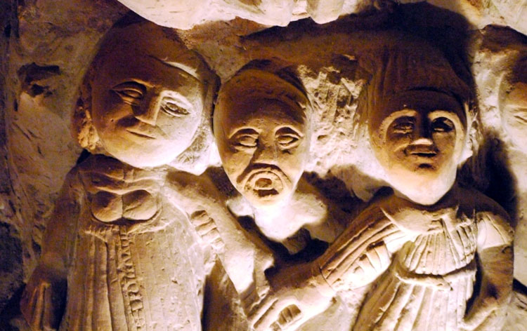 Hoehlenskulpturen Deneze sous Doue 6