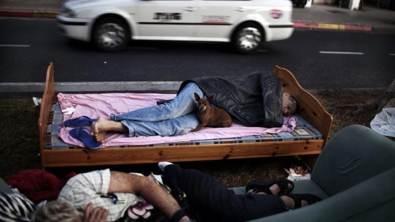 Protest gegen Wohnungsnot in Israel