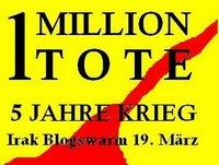 19.3.2008 Blogschwarm gegen den Irakkrieg