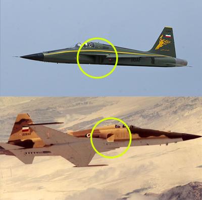 Azarakhsh-und-Northrop-F-51