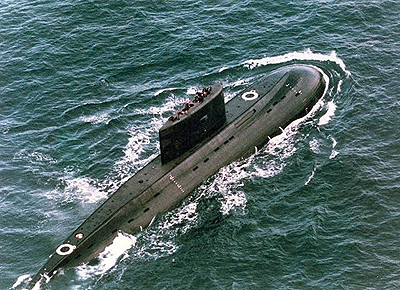 Russisches-U-Boot-Kilo